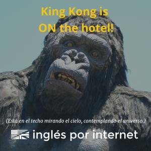 kingkongisonthehotelsquare