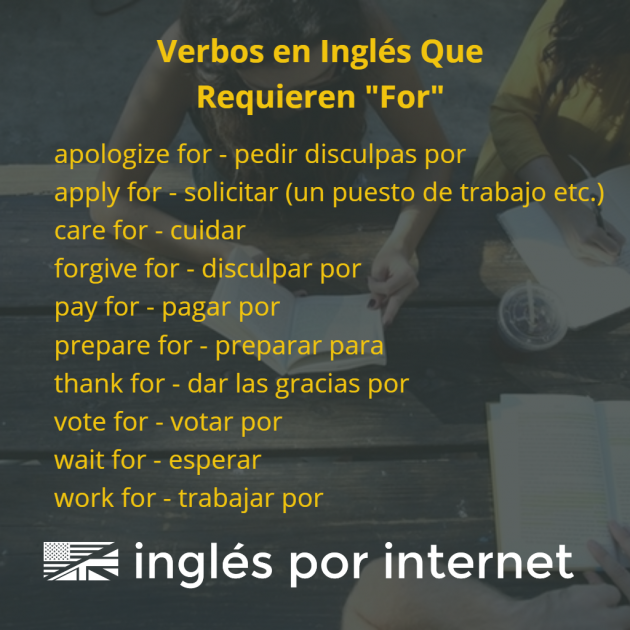 verbos-en-ingles-con-preposicion-for